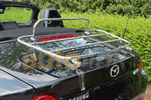 Boot luggage rack, stainless, Mazda MX-5 mk4 (ND series) 2014 on